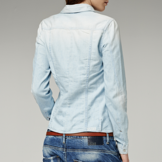Camisa Arc Slim Shirt de G-Star back