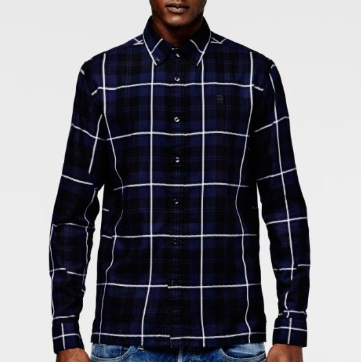 Camisa Correct Btd Ch Shirt LS de G-Star